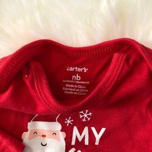 5955f05e3 Carter's Matching Sets - Carter's My First Christmas set with Wubbanub